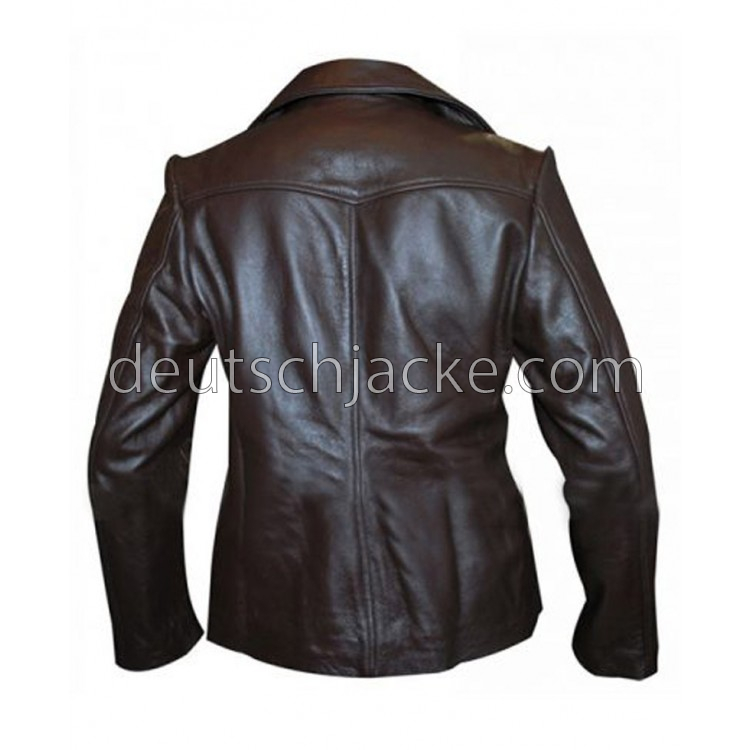 Bedtime Stories Keri Russell (Jill) Brown Leather Jacket.