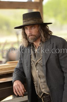 Hell on Wheels Cullen Bohannon (Anson Mount) Trench Coat1