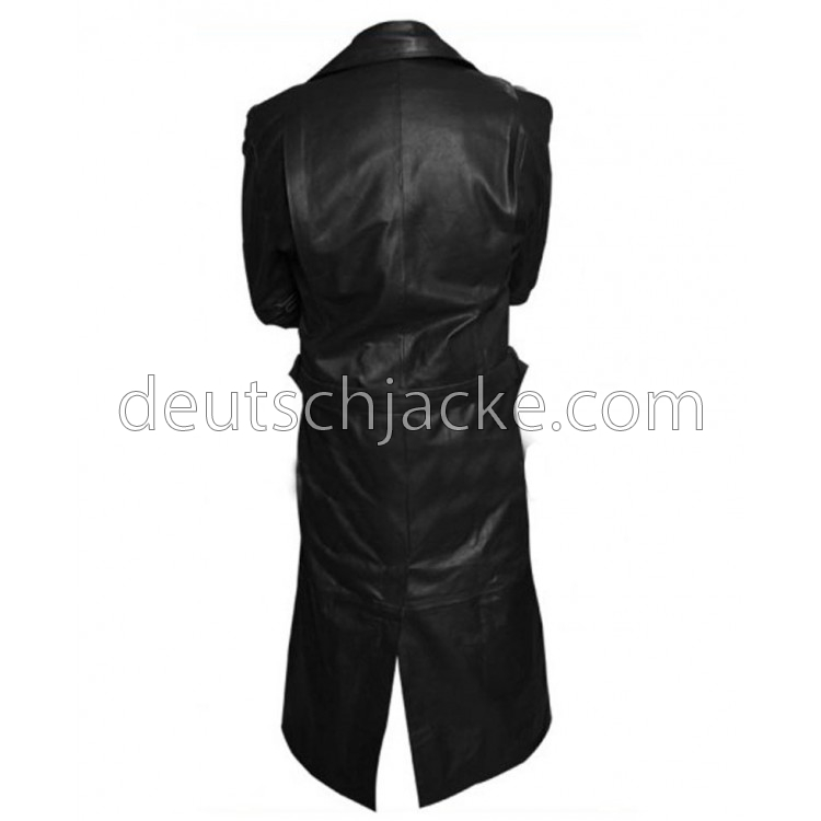 Spike Buffy the Vampire Slayer Trench Leather Jacket.